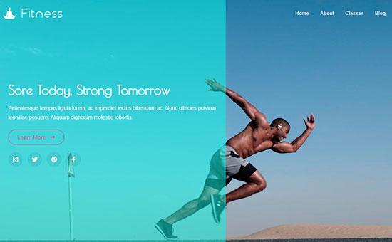 OceanWP Fitness