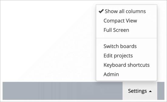 Admin dashboard