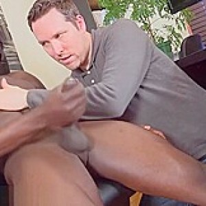 Maskurbate Masked Ebony Hunk With His BBC