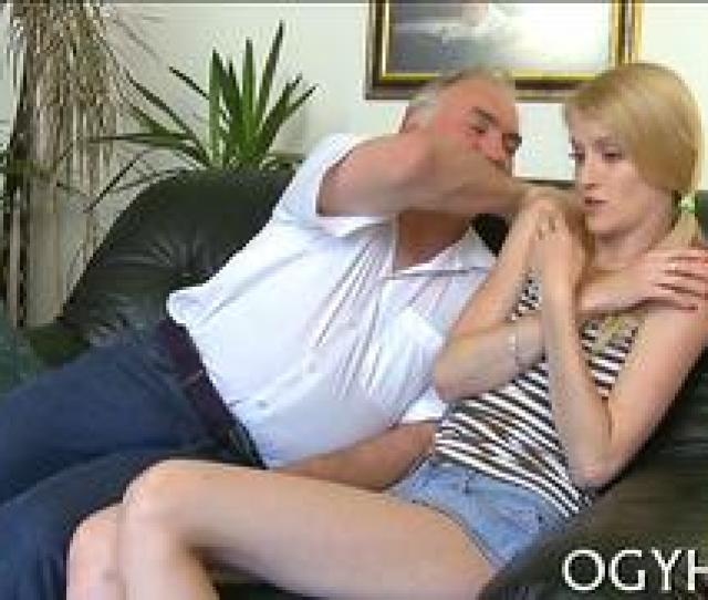 Download Skinny Teen Groped By Old Pervert And Fucked On A Couch