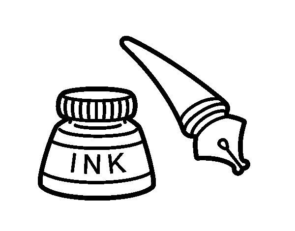 Disegno di Penna stilografica da Colorare