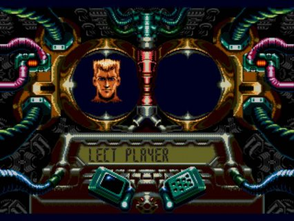 Contra Hard Corps Sega screenshot 2