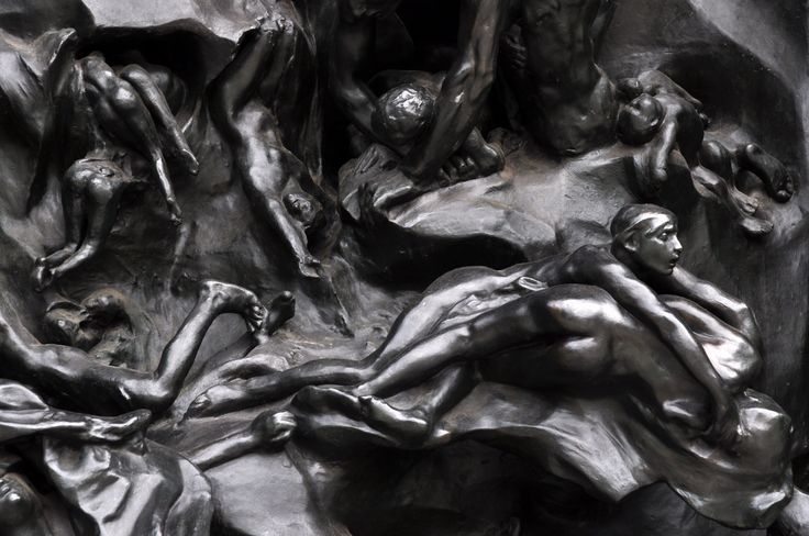 Image result for gates of hell by rodin
