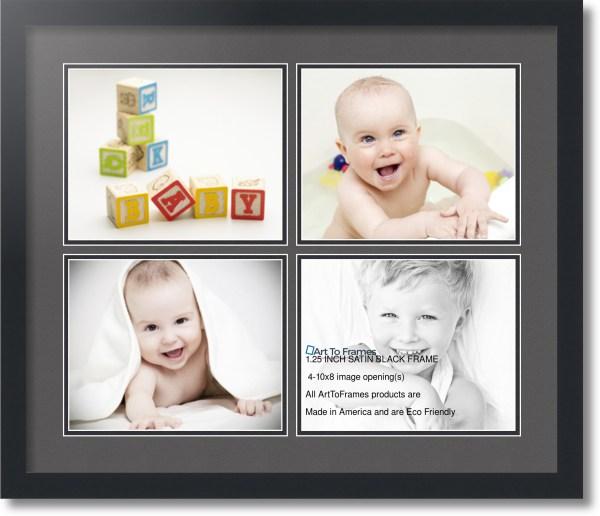Arttoframes Collage Mat Frame - 4 8x10