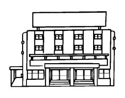 Department Store Coloring Pages Coloring Pages