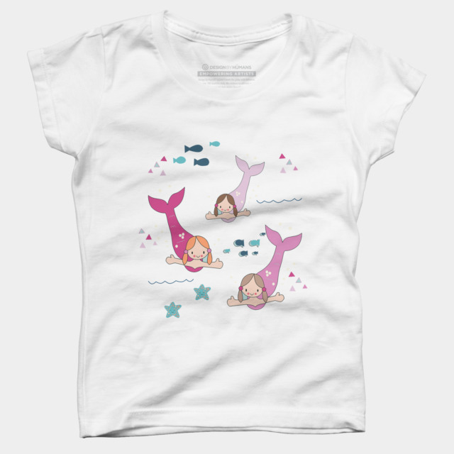 Mermaids T Shirt By KathrinLegg Design By Humans