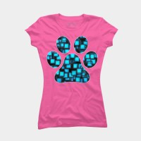 Paw Print T Shirt By Shrenk Design By Humans