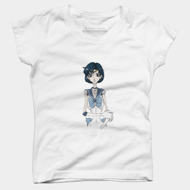 Skeleton Sailor Mercury T Shirt By ElasticTee Design By Humans