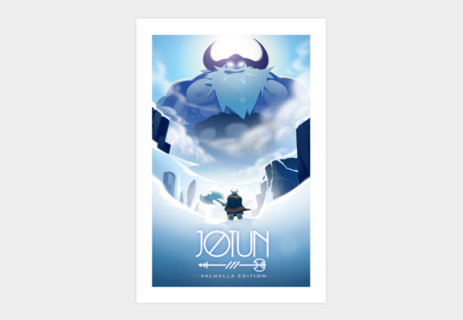 Jotun: Valhalla Edition Art Print Art Print - Design By Humans
