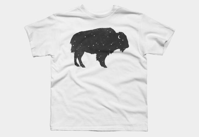 Mystic Buffalo T Shirt By Igo2cairo Design By Humans