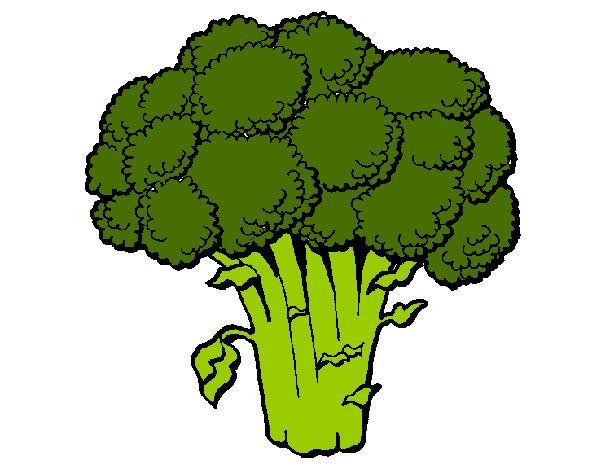 Resultado de imagen de brocoli dibujo