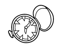 Dibujos de relojes pintados - Imagui