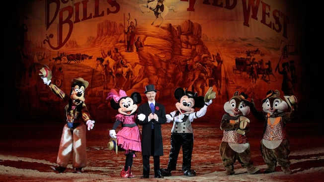 Buffalo Bill's Wild West Show with Mickey and Friends ...