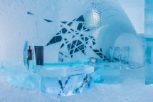 Sweden' Icehotel Open 365 Days Year Kids