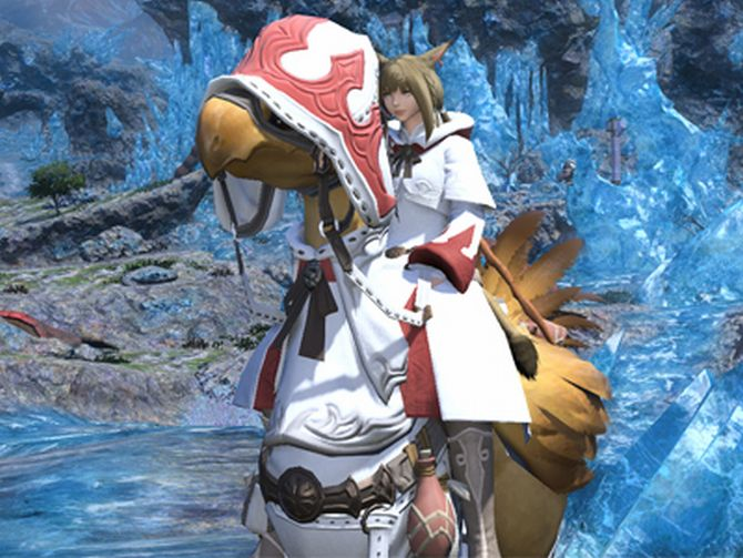 Final Fantasy XIV Gets Armored Chocobo Screenshots Before Meteor Soundtrack Launch Livestream