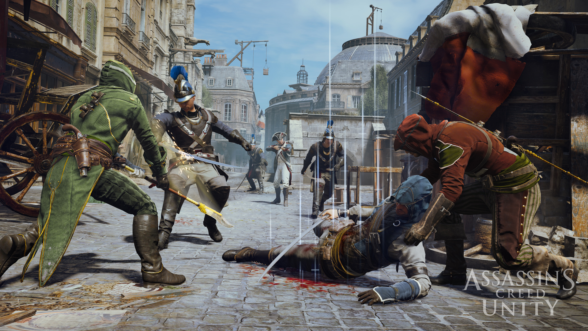 Assassins Creed Unity Xbox One Gameplay Shows What