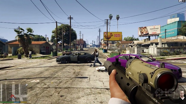 Grand Theft Auto V Gets A First Person Mode On Xbox One