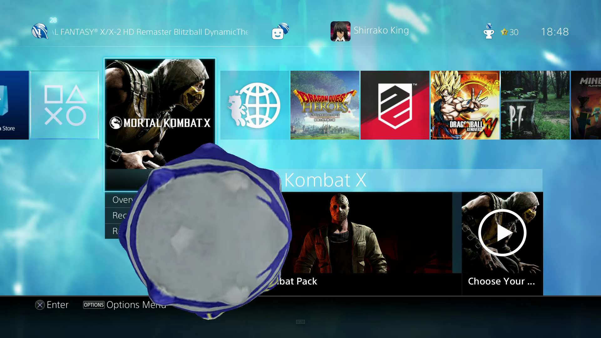 PS4 Dynamic Theme For Final Fantasy X X 2 HD Is Actually