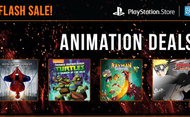 Playstation Store Flash Sale Highlights Games Based On