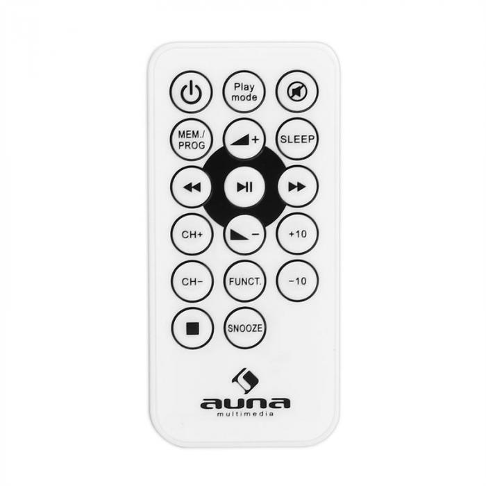 MC-120 Mini Hifi Stereo System MP3 CD Player USB White