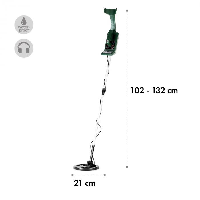Nazca Pro Metal Detector 4m Waterproof Green