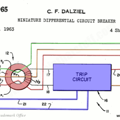 3 Phase 5 Pin Plug Wiring Diagram Uk Mallory Distributor Unilite Residual Current Devices Rcds And Ground Fault Interrupters Gfis Charles Dalziel S Original Circuit Interrupter Design From The 1960s Us Patent 3213321