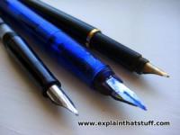 How do fountain pens work? - Explain that Stuff