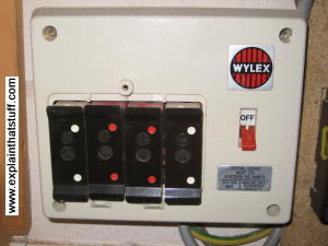 electrical control panel wiring diagram duo therm furnace electric fuse box types data schema old range plug