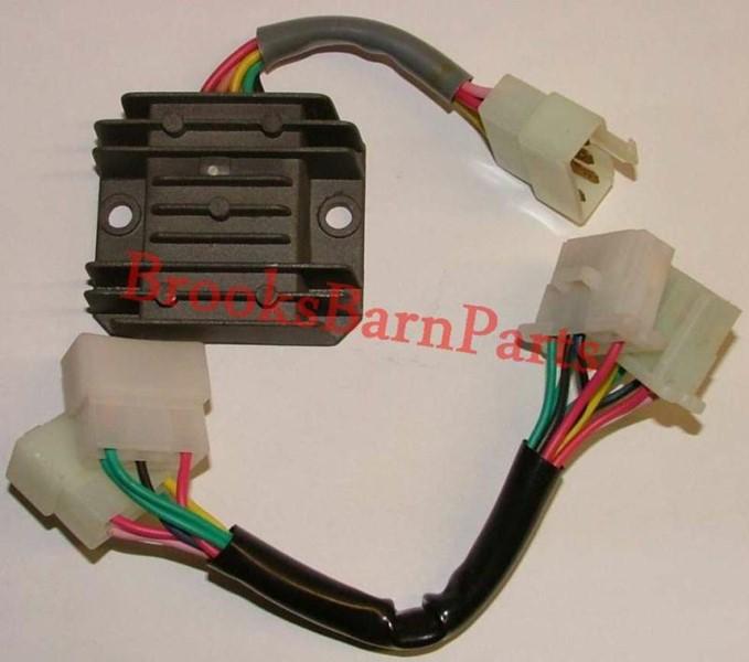 Suzuki Regulator Rectifier Circuit Diagram Regulator Rectifier Wiring