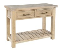 Saltash Dining Furniture - Console Table 2 Drawers ...