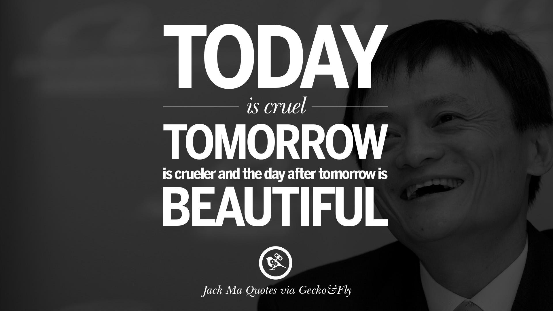 Success Quotes Desktop Wallpaper 30 Jack Ma Quotes On Entrepreneurship Success Failure