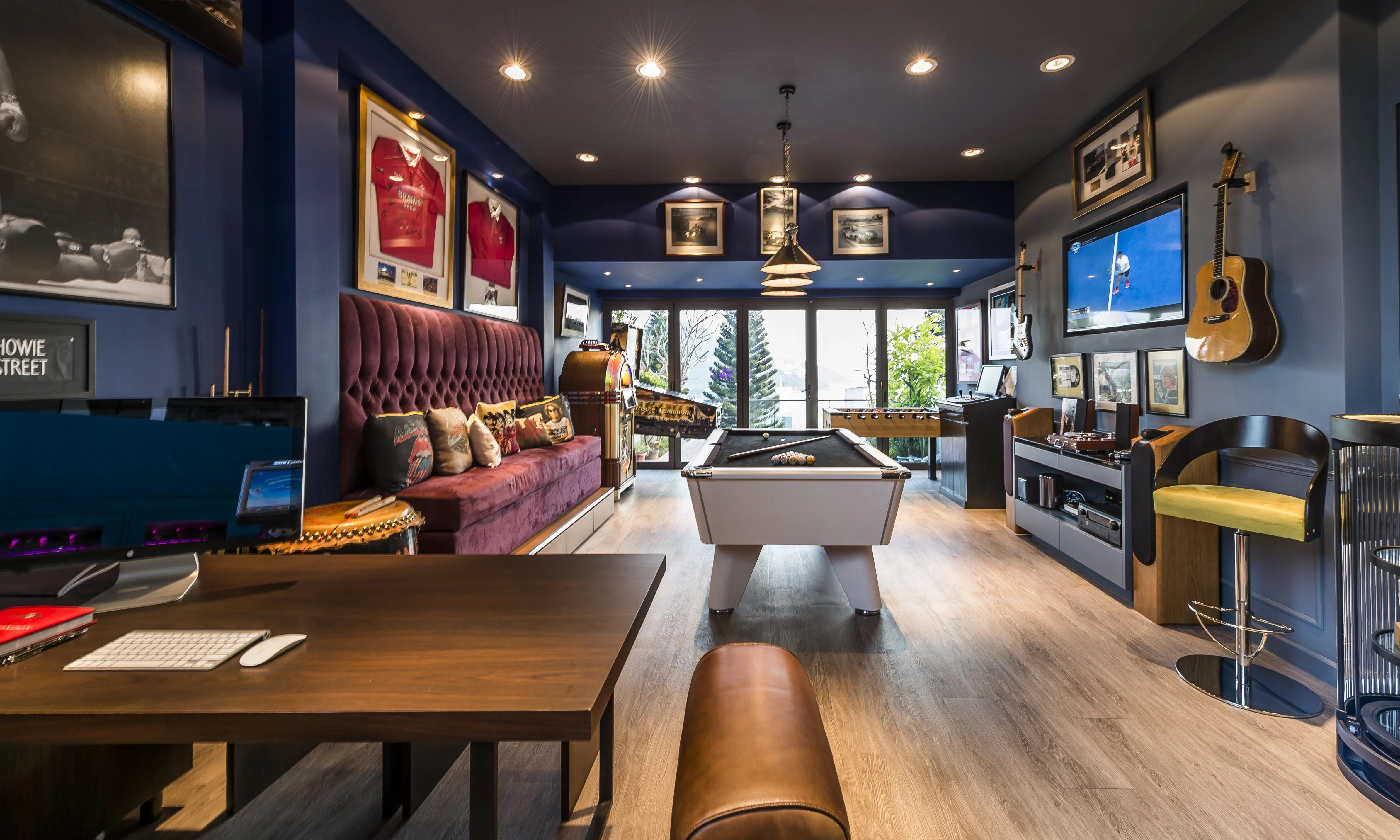 A Hong Kong house with an enviable games room