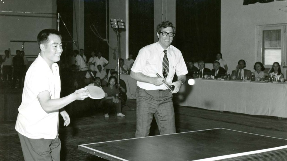Richard Solomon whose pingpong diplomacy helped Nixon