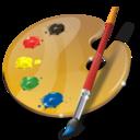 art, palette icon