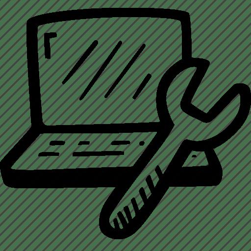 Computer, maintenance, repair, service icon