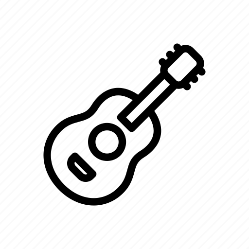 Acoustic, band, guitar, instrument, music, musical, play icon