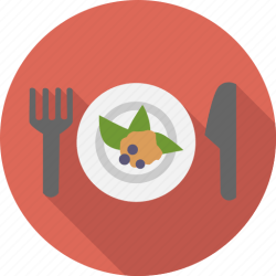 icon appetizer food diet breakfast cooking meal fork icons knife chef kitchen 512px