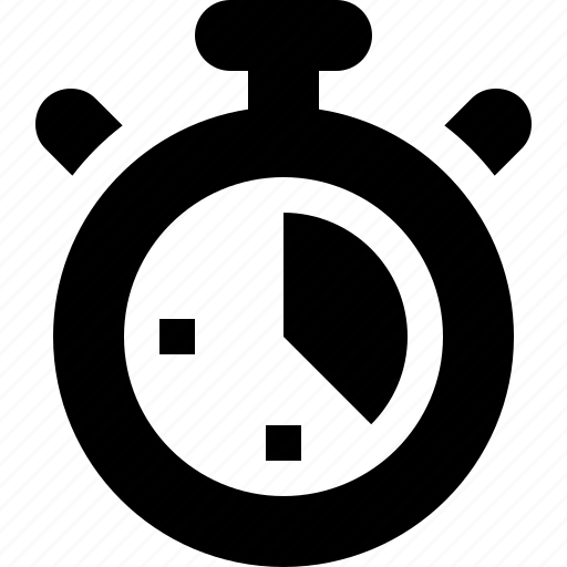 Clock race stopwatch time timer icon