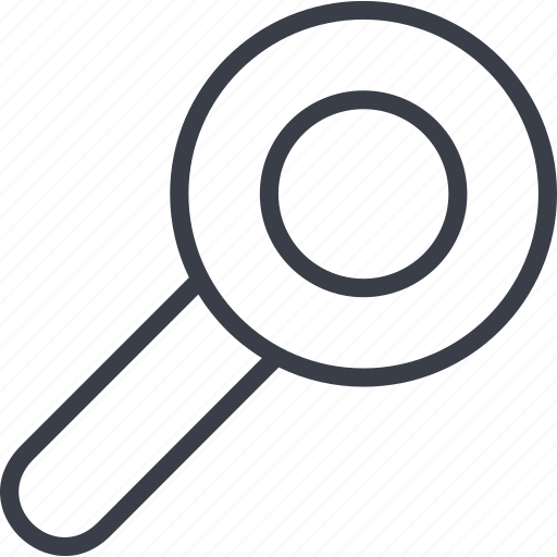 Crime, glass, magnifier, magnifying, search icon
