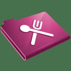 icon food restaurant icons grey marketing folder engine aol cookbook email system website ico amazon transparent freeiconspng softicons freepngimg vector