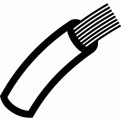 Cable, fiber, optic, wire icon