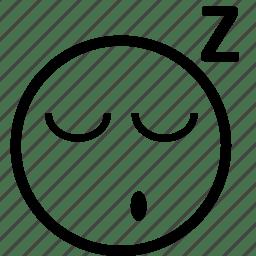 Dream, emoticon, emoticons, sleeping, sleepy, smiley, yawn
