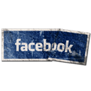 facebook, grunge, social media, tags icon