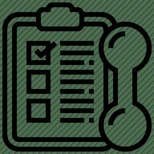 Checklist, clipboard, inspection, planning, schedule icon