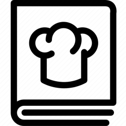 recipe icon food menu cooking icons cuisine 512px