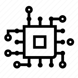 Circuit, computer, digital, future, tech, technology icon