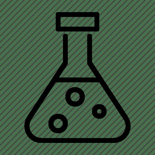 Chemical, lab, laboratory, test icon