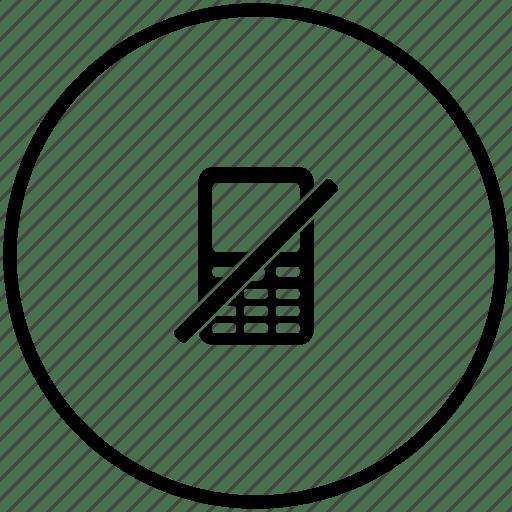 Mobile, offline icon