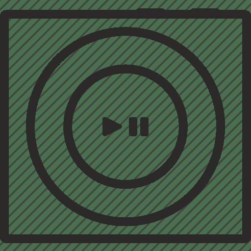 Apple, device, hardware, ipod, mobile, music, shuffle icon