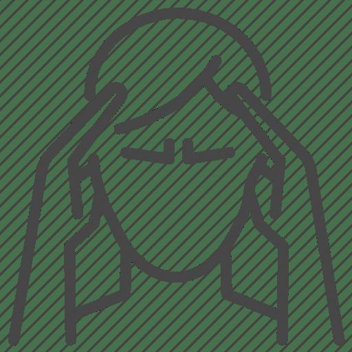 Cluster, headache, migraine, sick, stroke icon